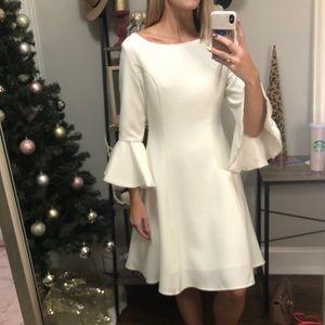 Gorgeous white professional dress!